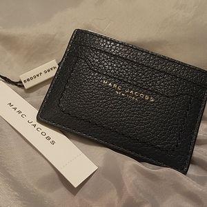 Marc Jacobs credit card case color sea blue